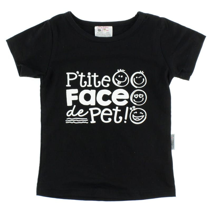 Face De Pet T-Shirt 2-3y