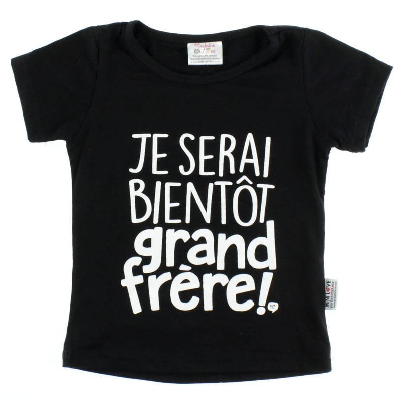 T-Shirt Grand Frere 12-24M