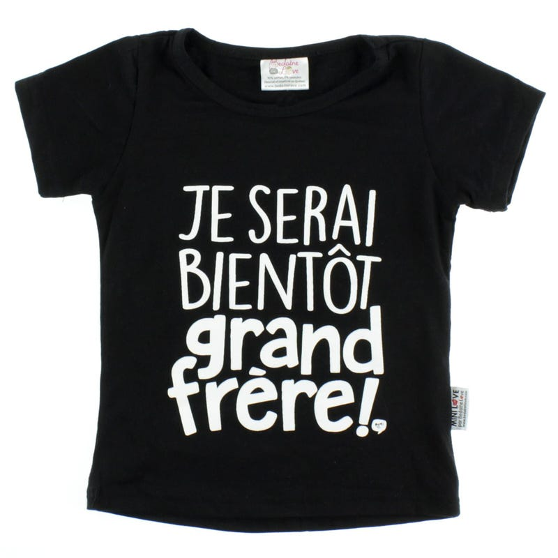 Grand Frère T-Shirt 2-3y
