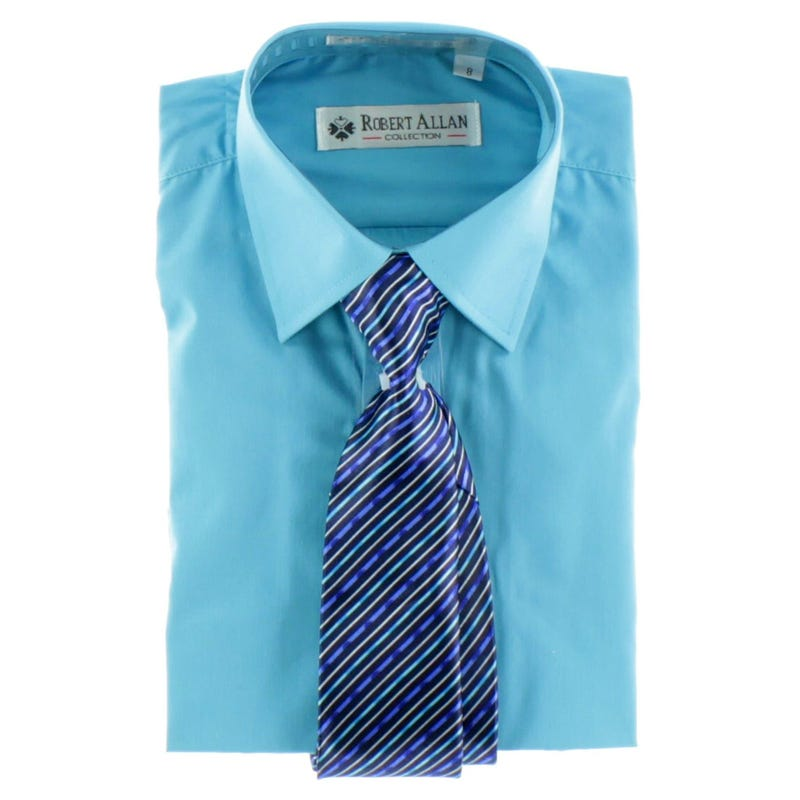 Shirt With Tie 7-20y