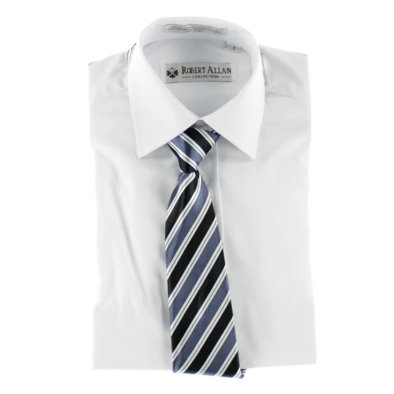 Shirt With Tie 2-6y