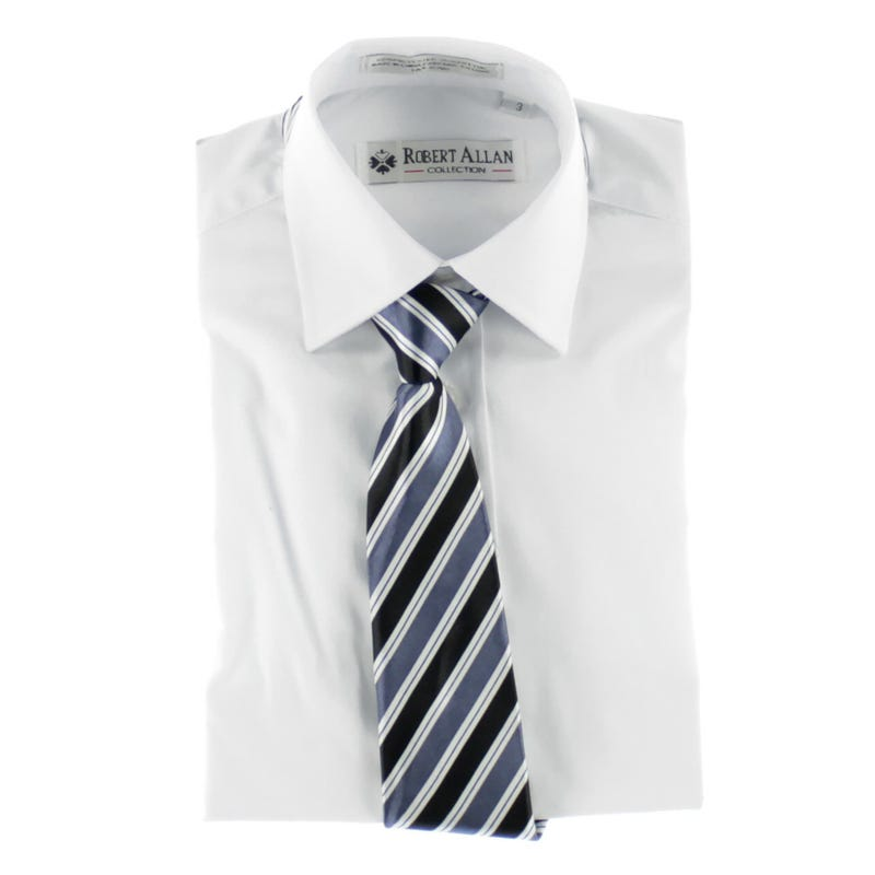 Shirt With Tie 8-16y