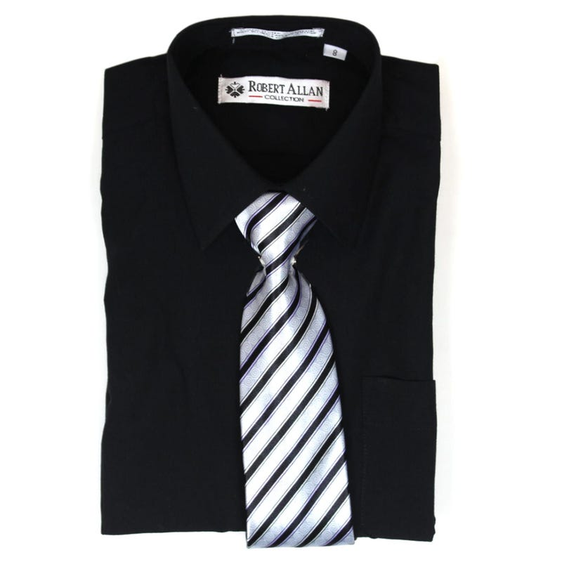 Shirt With Tie 4-16y