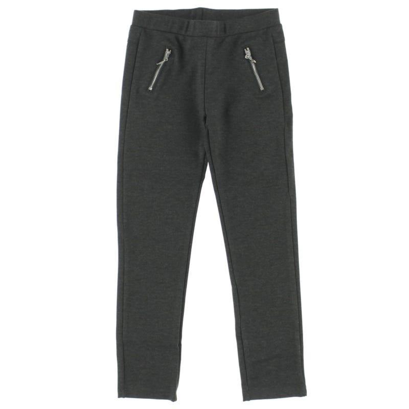 Chic Zip Basic Pants 4-14y