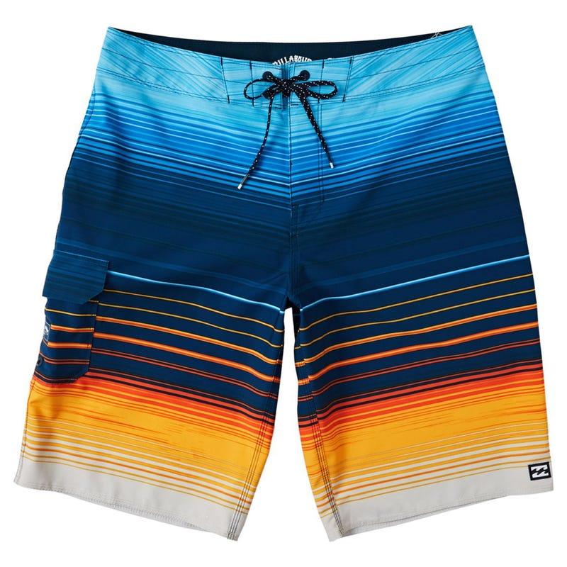 Boardshort All Day Stripe 8-16ans