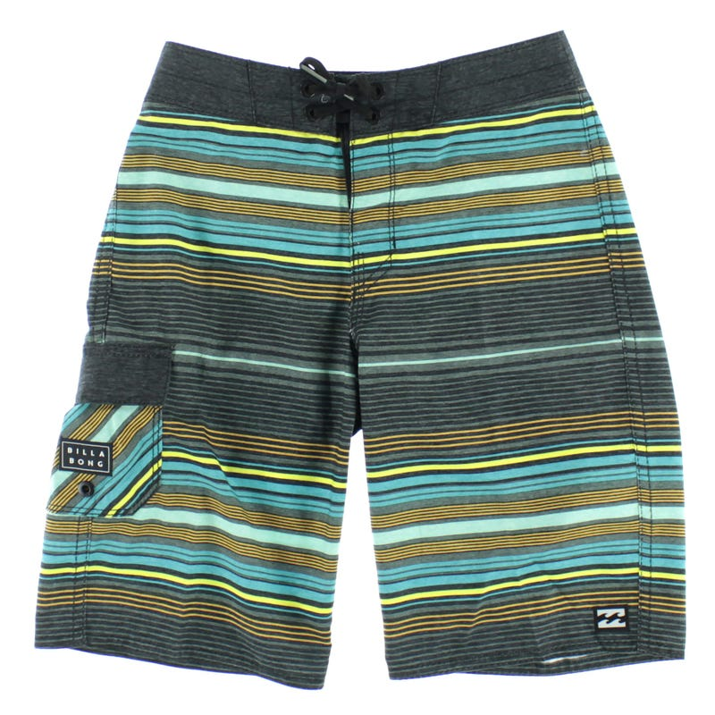 Boardshort All Day Stripe 8-16ans