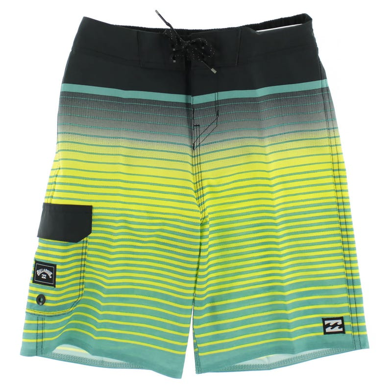 All Day Stripe Boardshort 2-7y