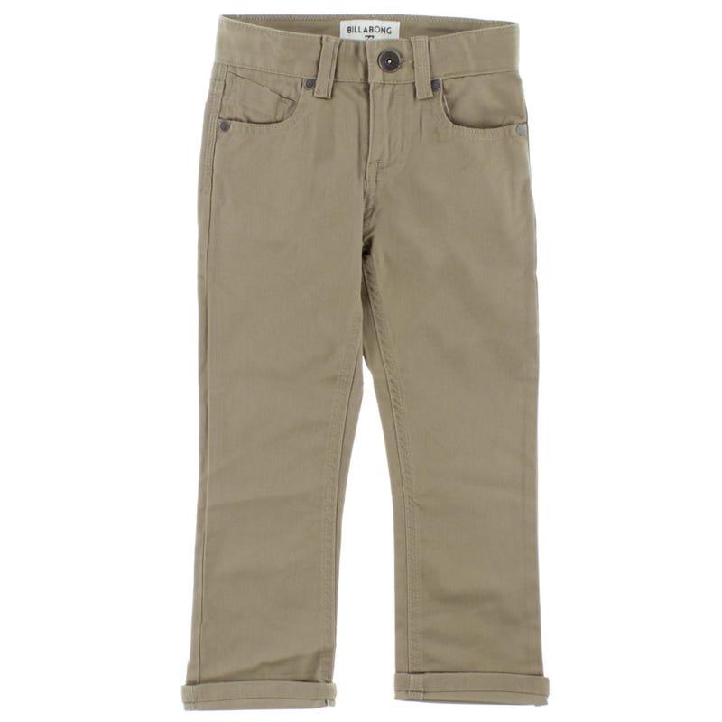 Pantalon 5 Poches Outsider 4-7ans