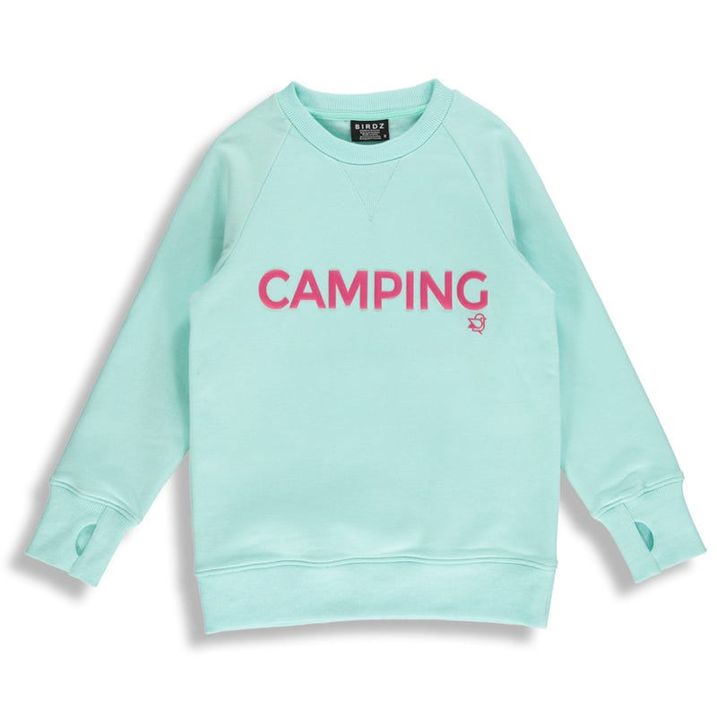 Gilet Ouate Menthe Camping 2-6ans