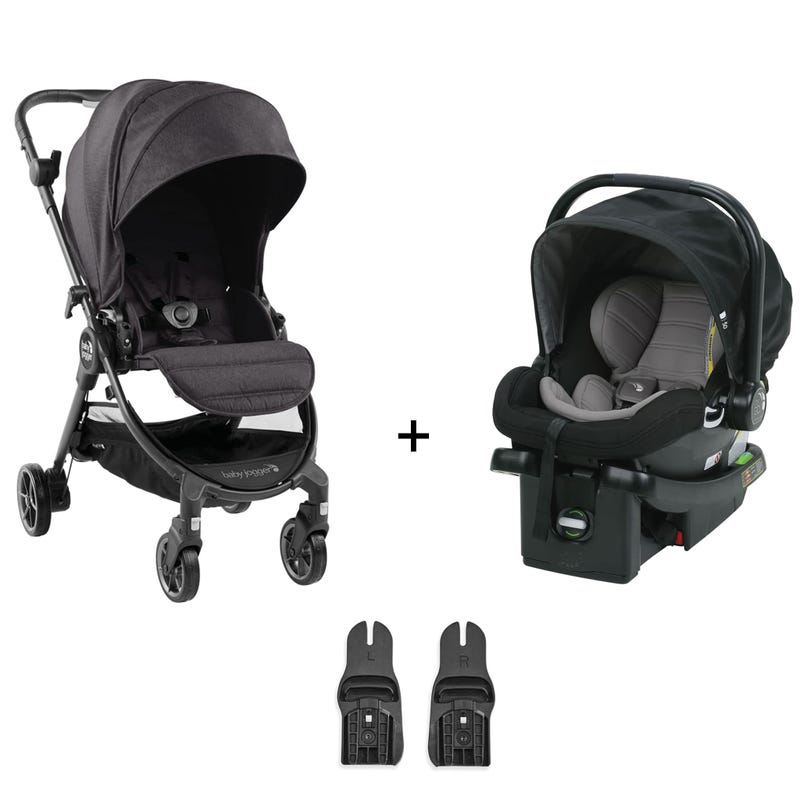 Travel System Baby Jogger Tour Lux - Granite / Black