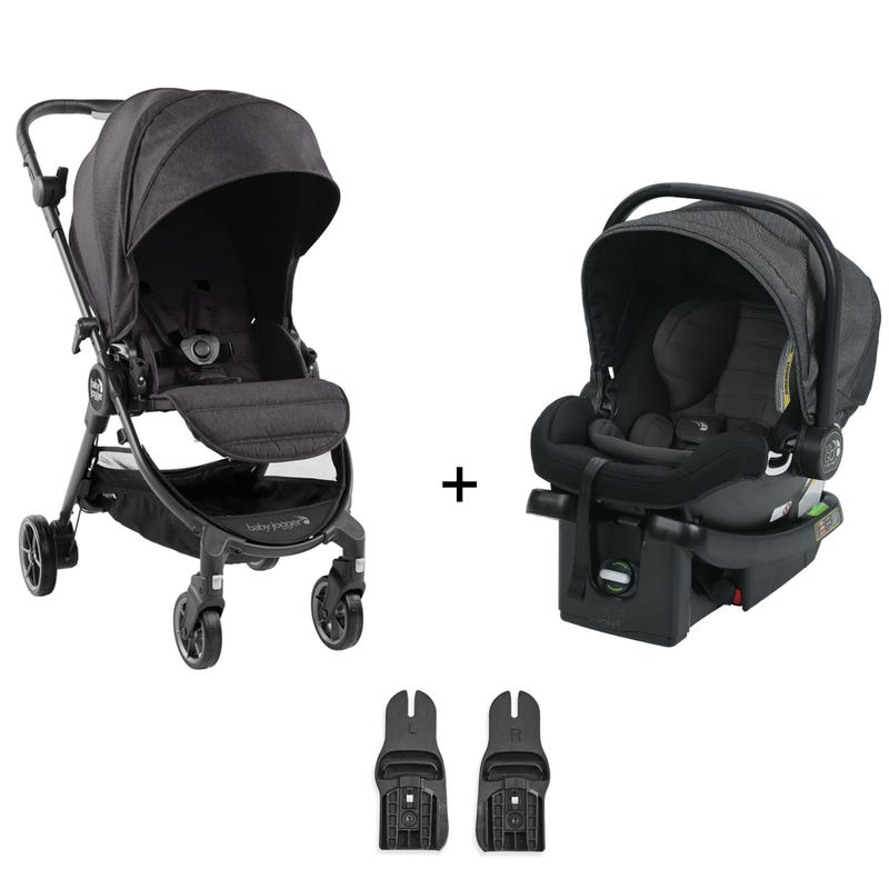 Travel System Baby Jogger Tour Lux - Granite / Charcoal