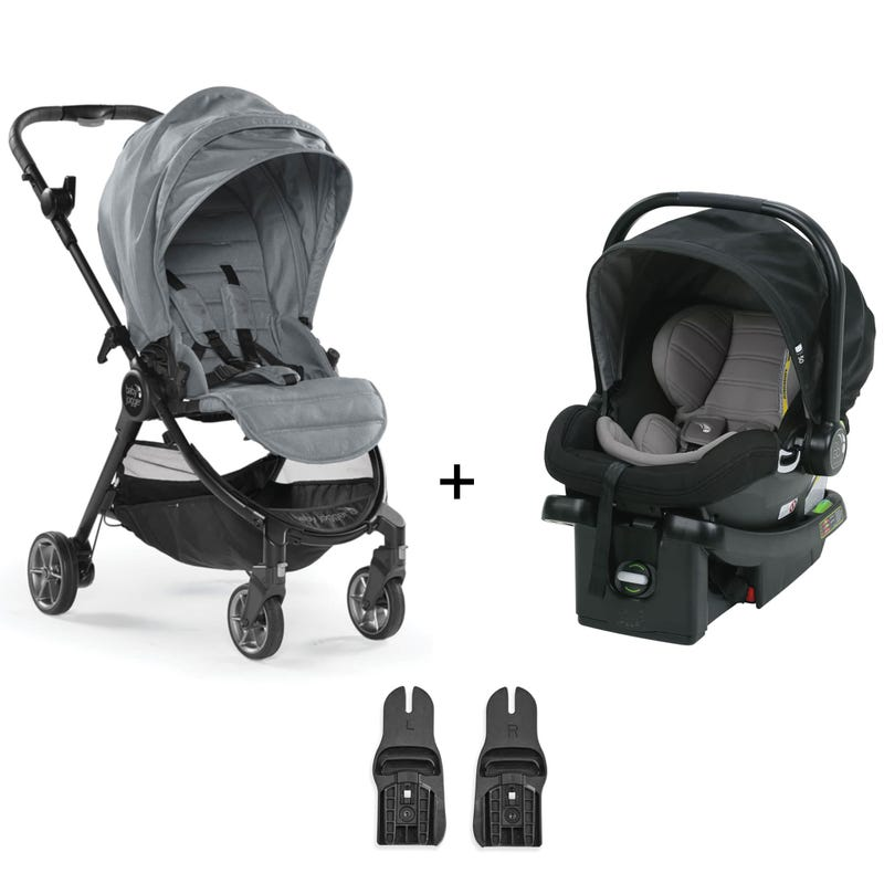 Travel System Baby Jogger Tour Lux - Slate / Black