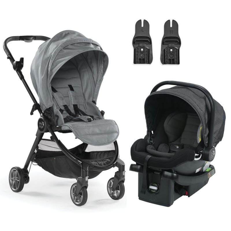 Baby Jogger Travel System  - Slate/Charcoal