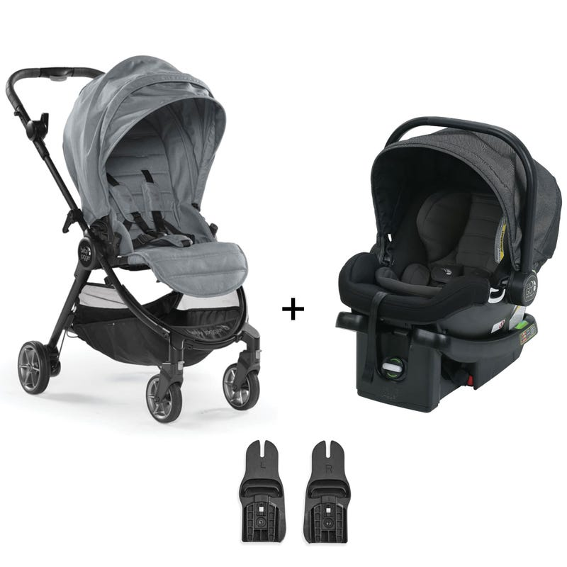 Travel System Baby Jogger Tour Lux - Slate / Charcoal