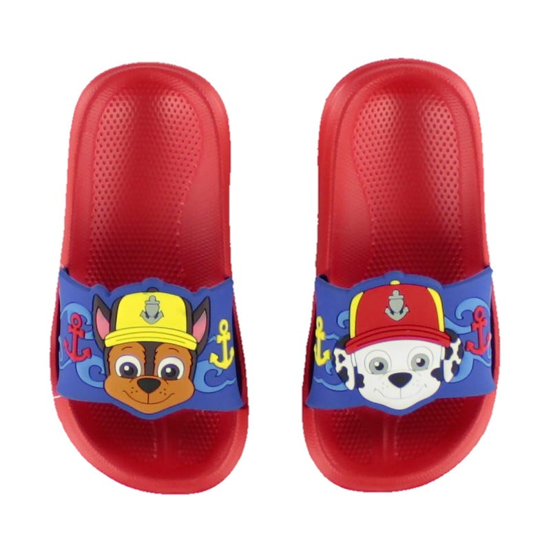 Paw Patrol Sandals Sizes 5-12 - Red