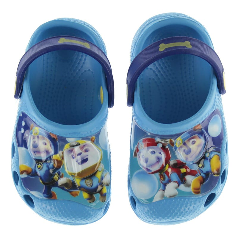Paw Patrol Clogs Sizes 5-12 - Blue