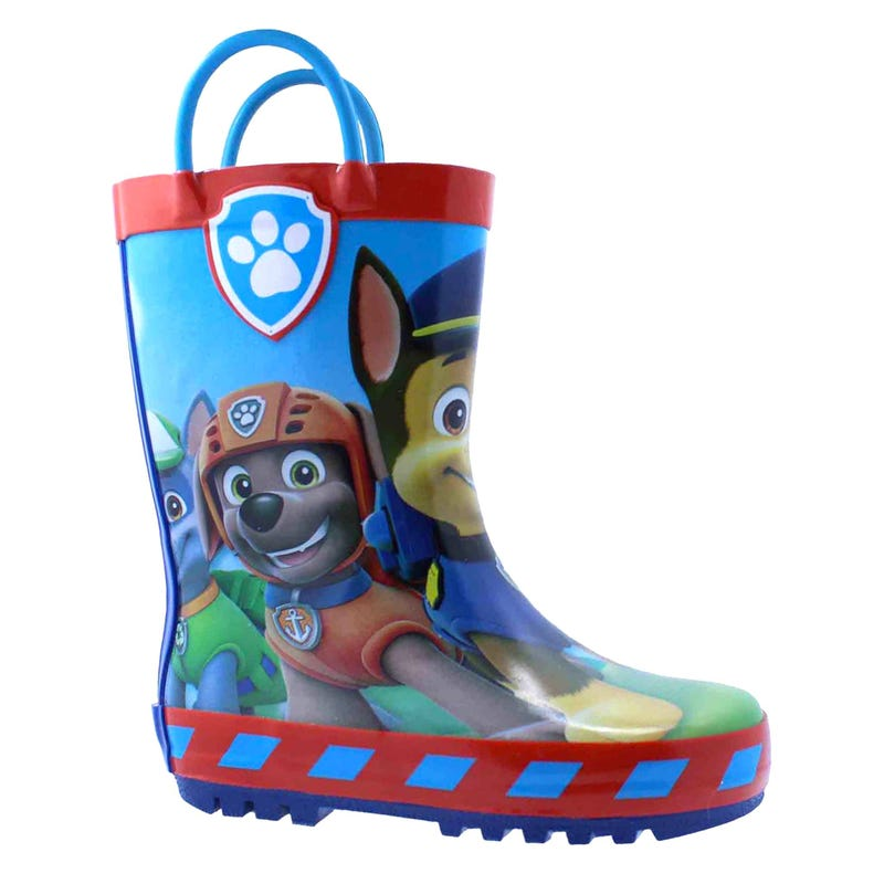 Paw Patrol Rain Boots Sizes 5-11 - Blue