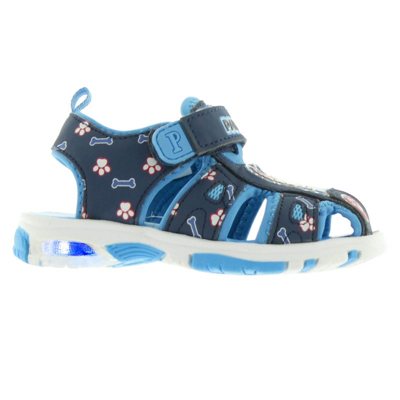 Paw Patrol Sandals Sizes 5-10 - Blue