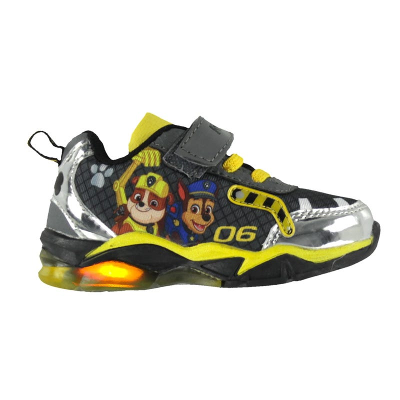 Paw Patrol Running Shoes Sizes 5-10 - Yellow