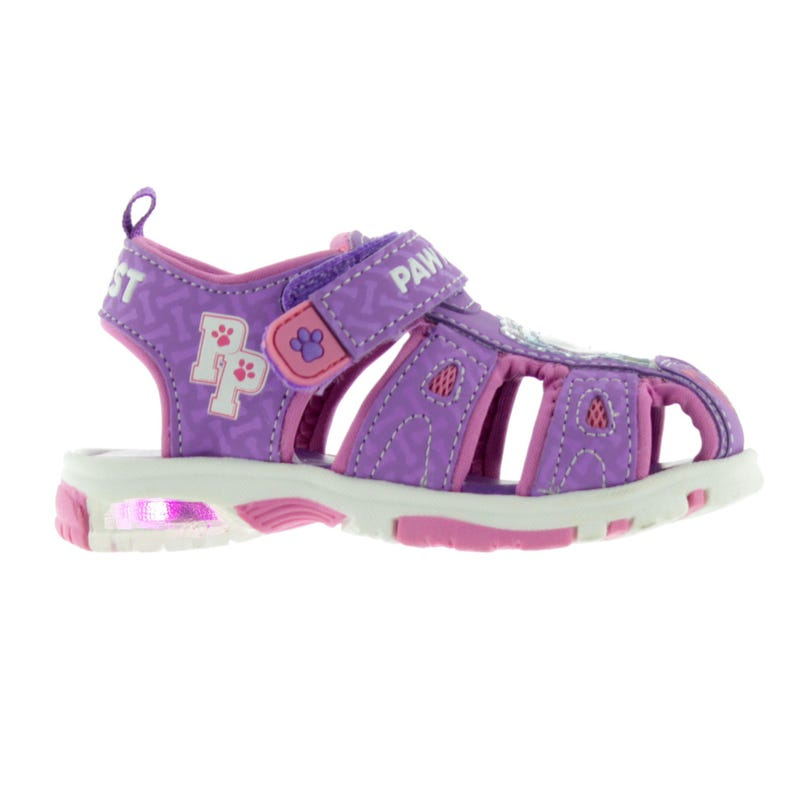 Paw Patrol Sandals Sizes 5-10 - Purple