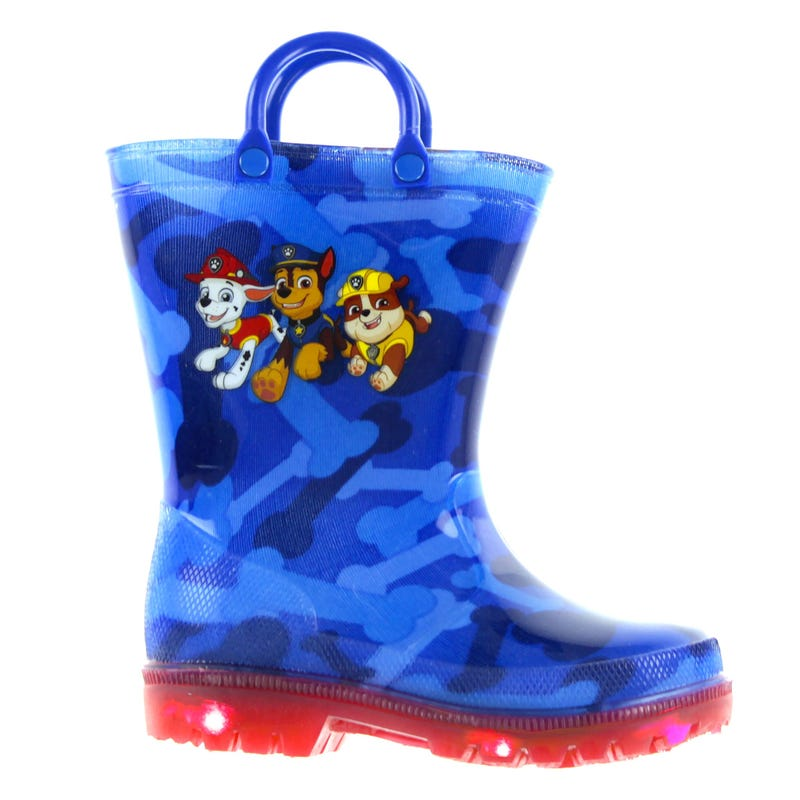Paw Patrol Rainboots Sizes 6-11