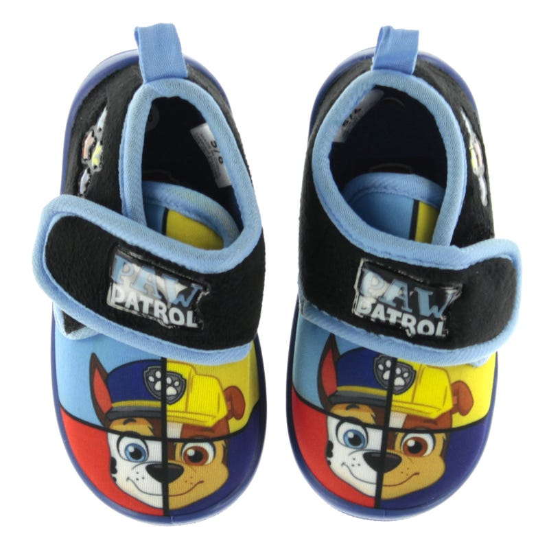Paw Patrol Slippers Sizes 5-12
