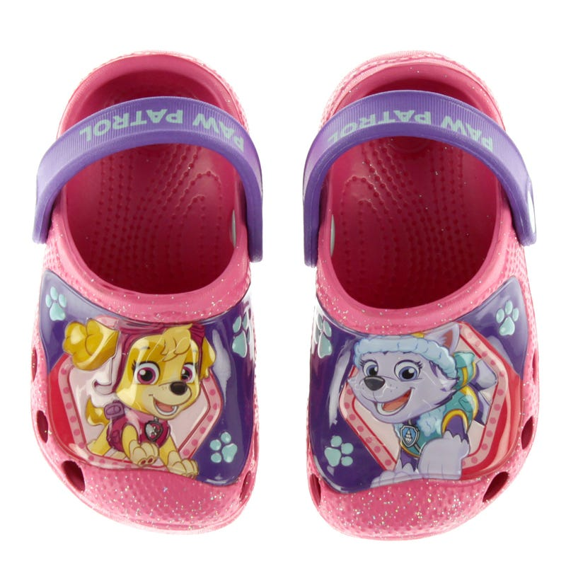 Paw Patrol Clogs Sizes 5-12 - Pink
