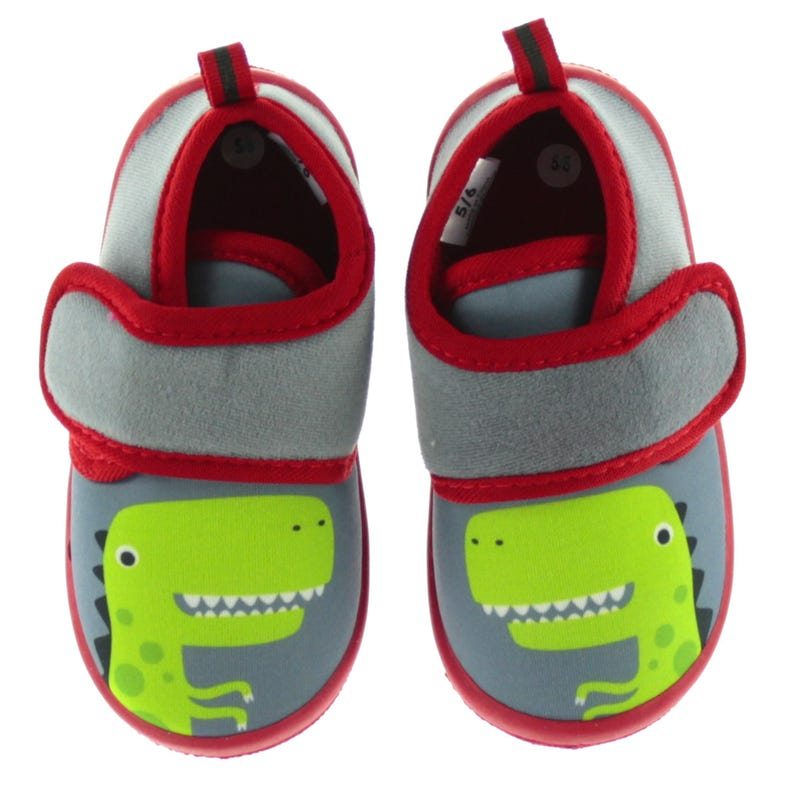 Exclusive Slippers Sizes 5-12 - Dino