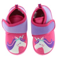 Exclusive Slippers Sizes 5-12 - Unicorn
