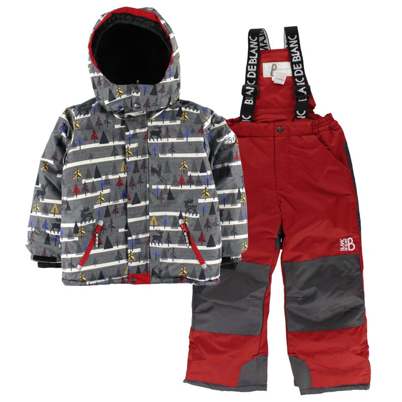 Tree Aop Snowsuit 7-12y
