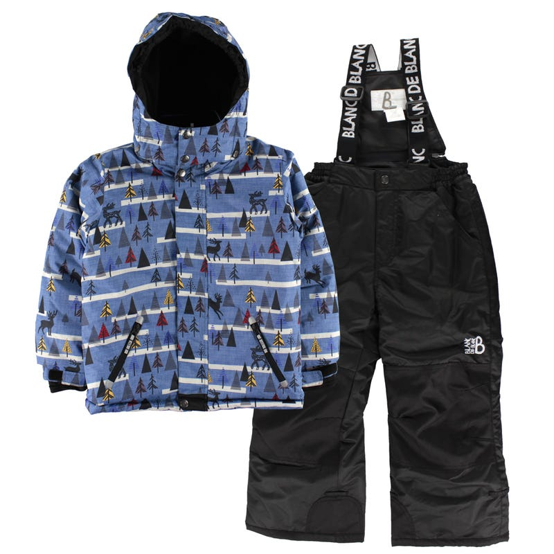 Tree Aop Snowsuit 4-6y