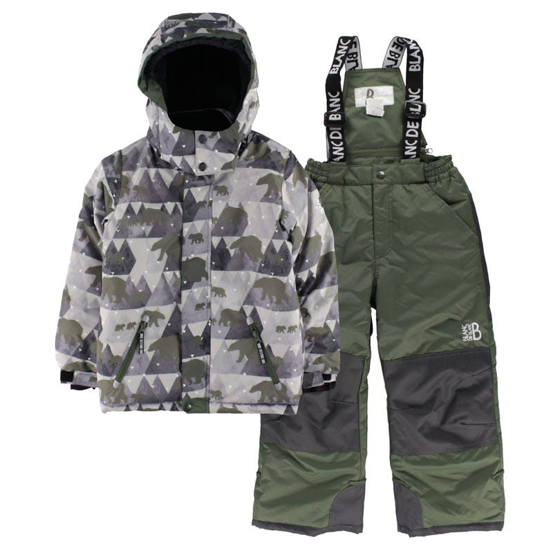 Bear Snowsuit 4-6y