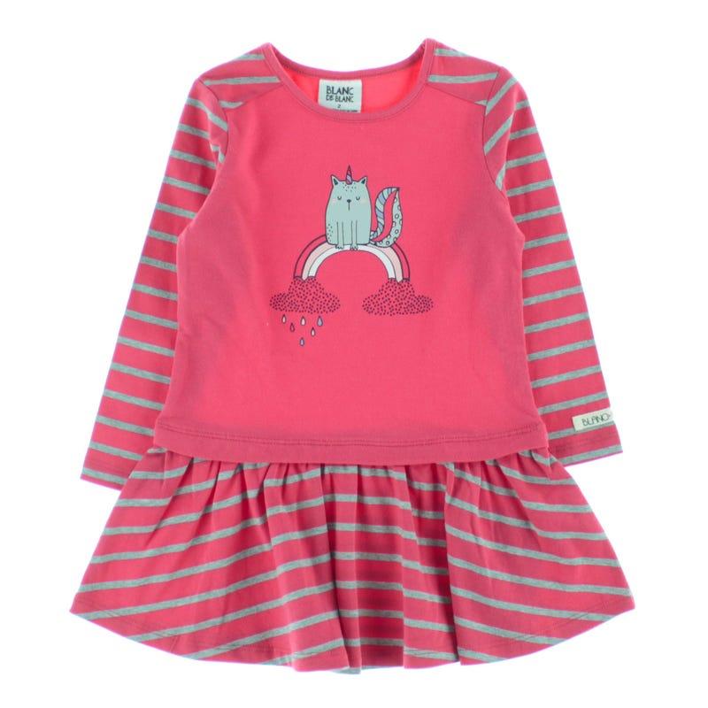 Magic L/S Dress 2-8