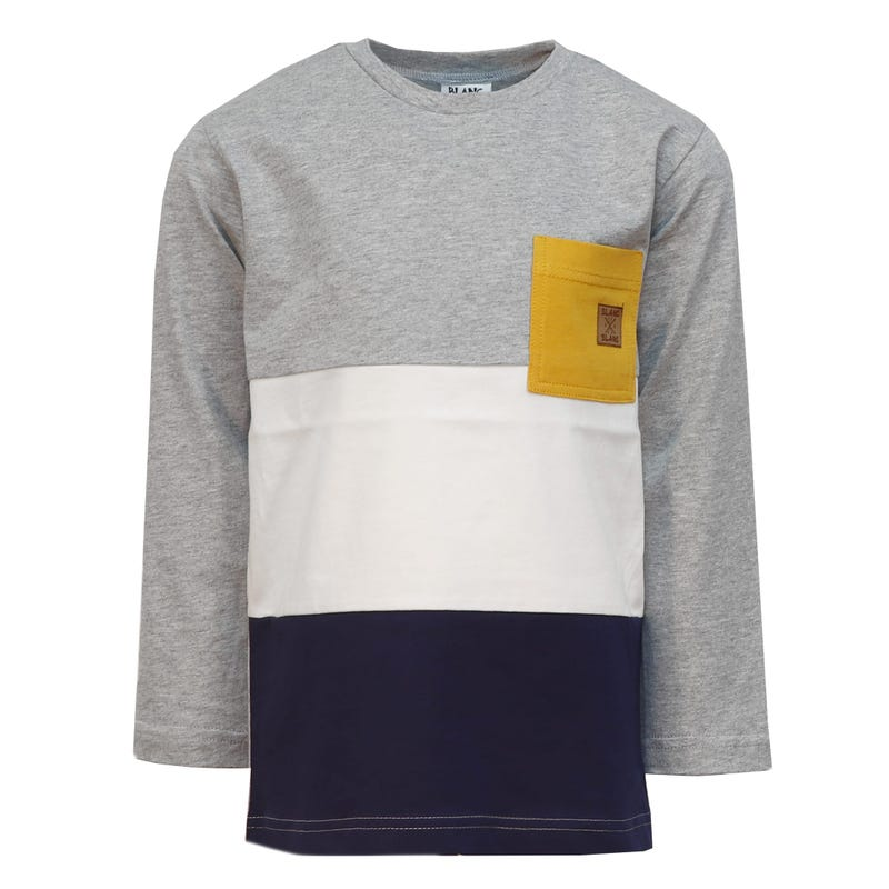 T-Shirt à Manches Longues Poche Sports 2-8ans