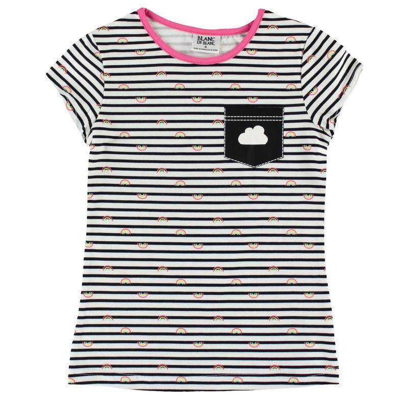 Rainbow Striped T-Shirt 2-8y