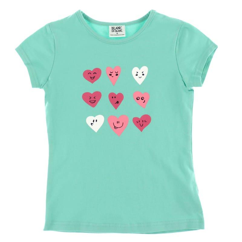 T-Shirt Coeurs 2-8ans