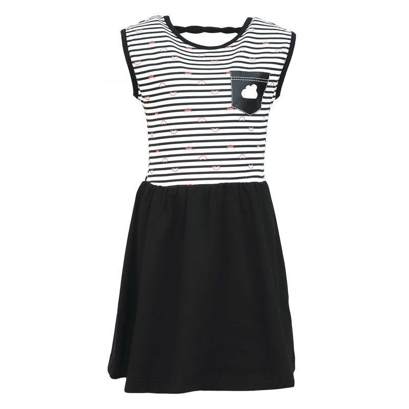 Rainbow Striped Dress 2-8