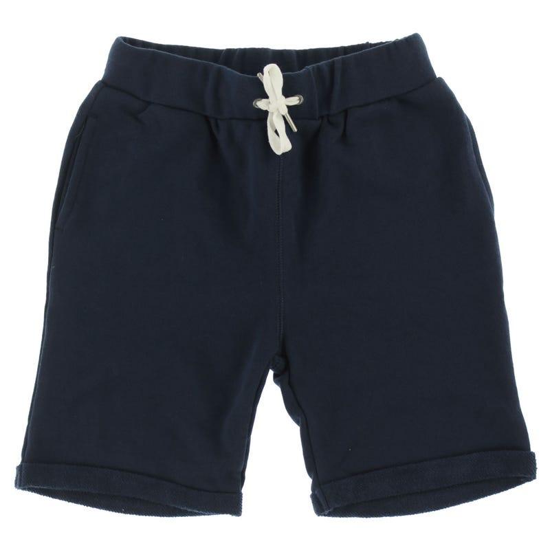 Short Coton Ouaté Uni 2-8ans