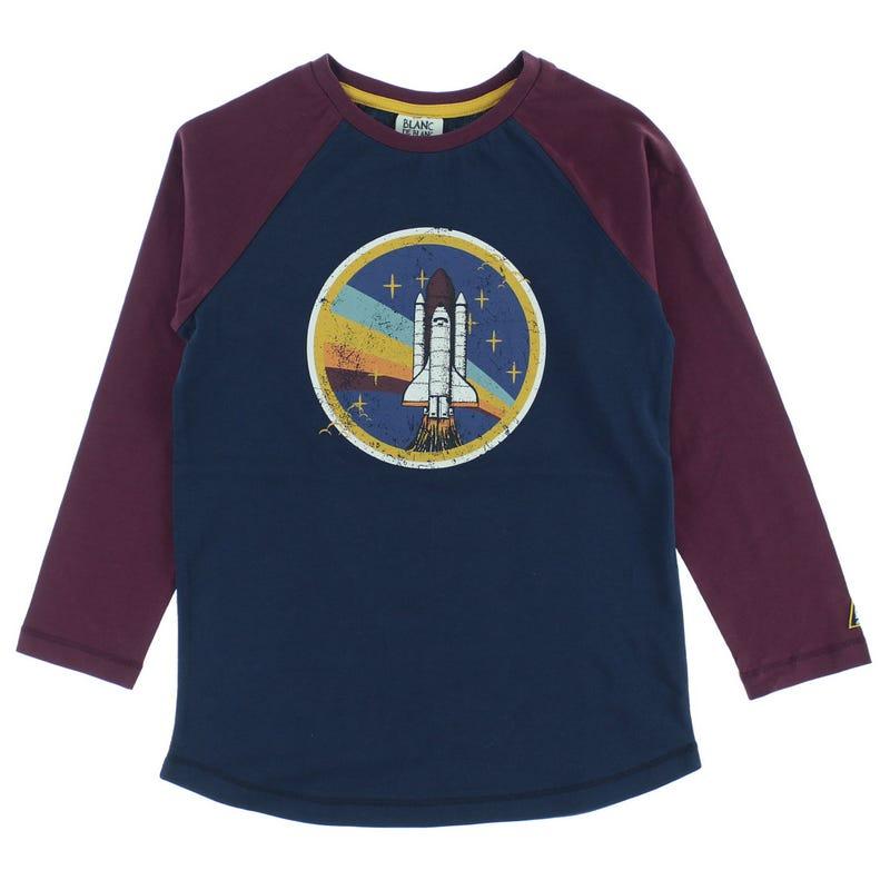T-Shirt Raglan Fusée Espace2-8