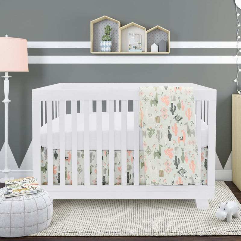 4 Pieces Crib Set - Cactus