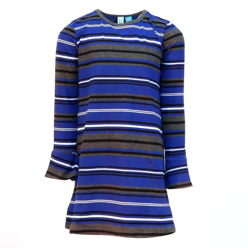Queen Spades Stripe Dress 4-14y