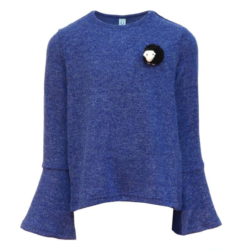 Queen Spades Soft Sweater 2-14y