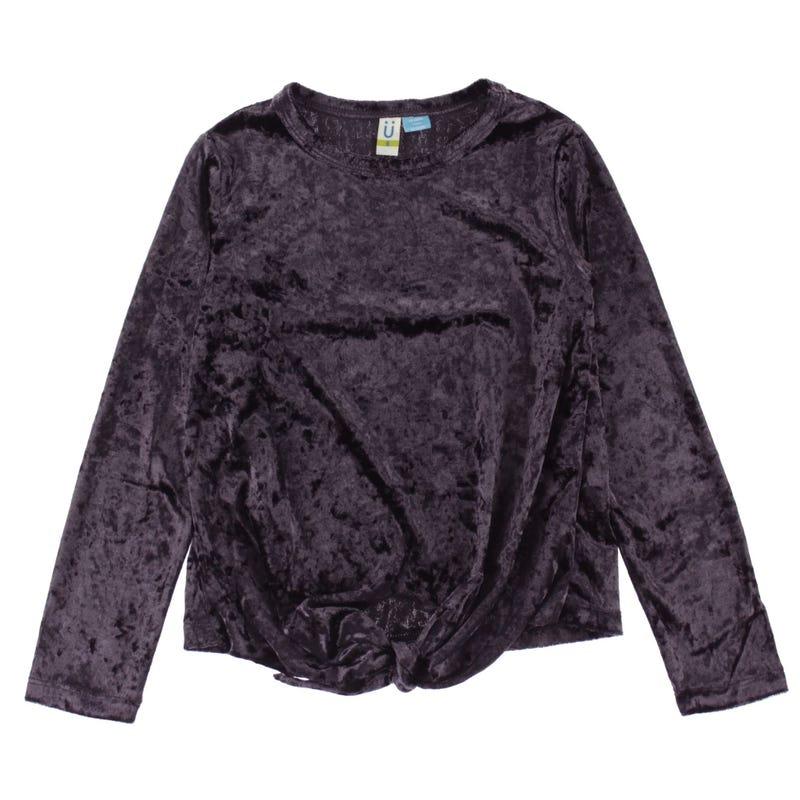 Look Velvet Long Sleeve T-Shirt 4-14y