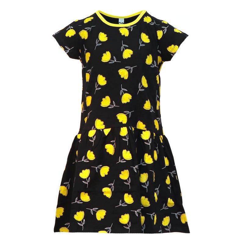 Jordaan Flower Print Dress 4-14y
