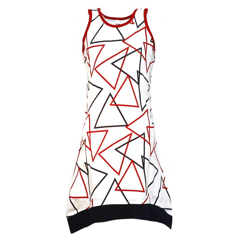 Cape Cod Geometric Dress 4-14y