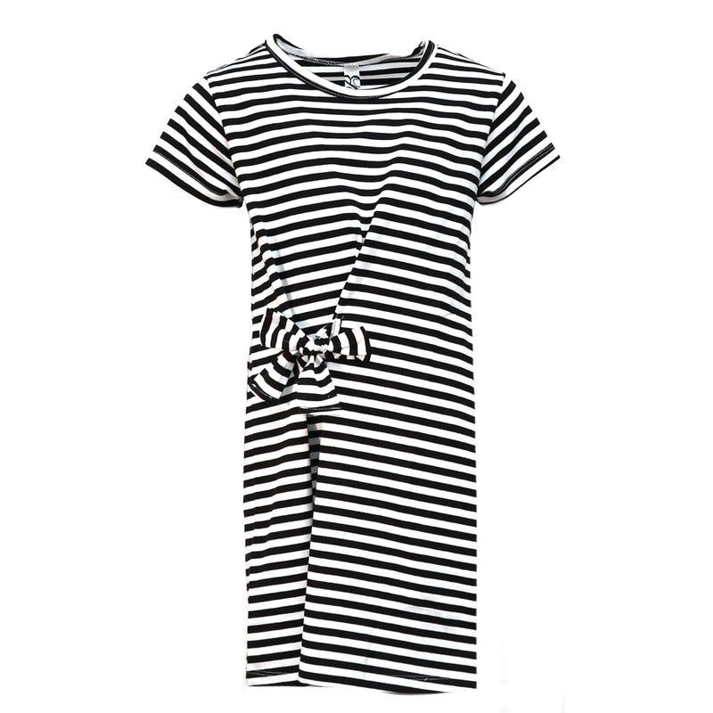 Knot Striped Dress 4-14y