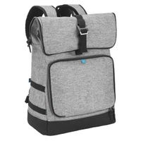 Sancy Backpack Diaper Bag - Gray