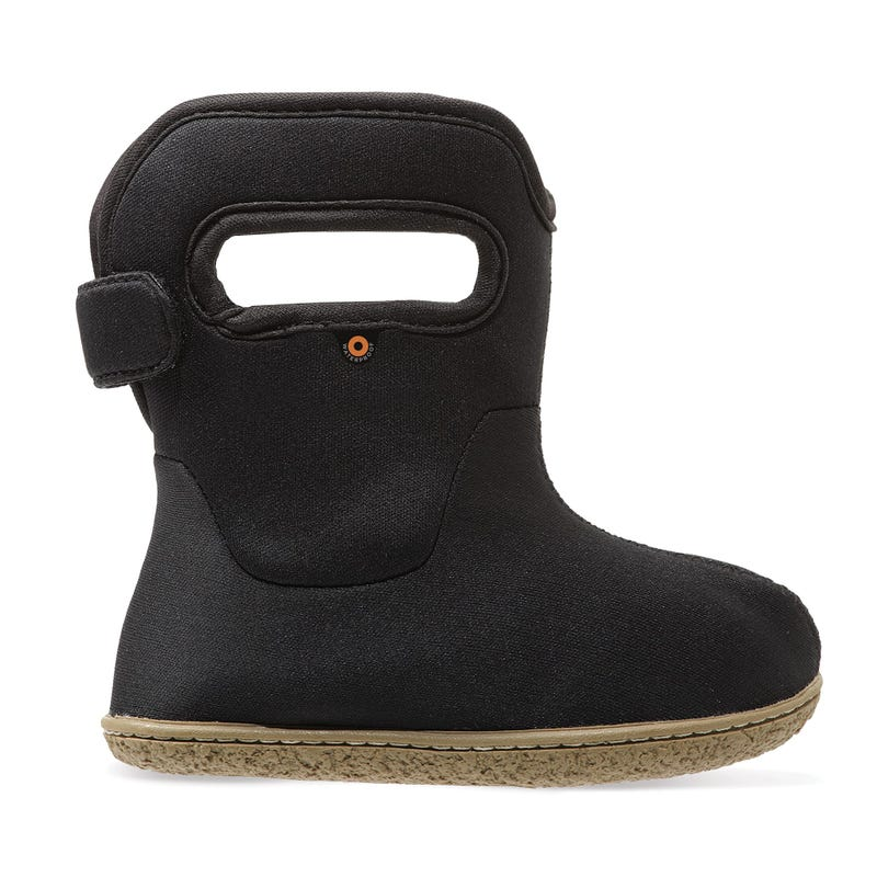 Mid-Season Baby Bogs Solid Boots Sizes 4-10 - Black
