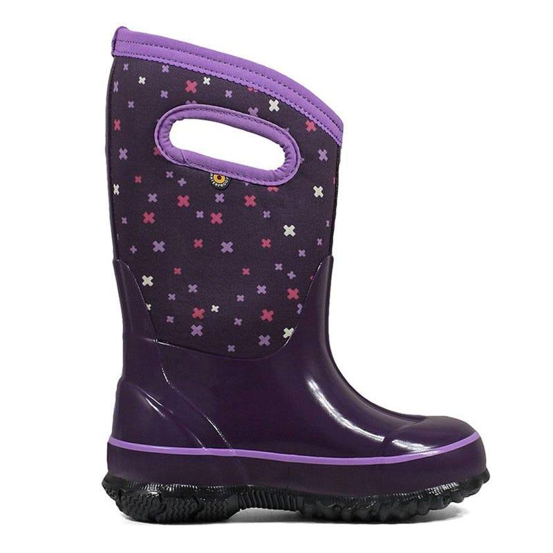 Winter Boots Classic Plus Sizes 7-6 - Eggplant Multi