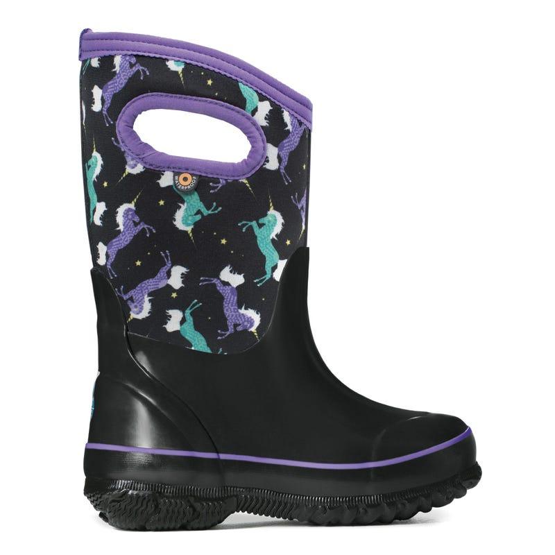 Classic Unicorns Winter Boots Sizes 7-6